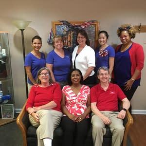 The dental staff at John Powers, DMD